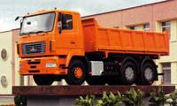 Самосвалы МАЗ Euro-5