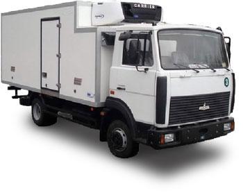 изотермический фургон маз:
